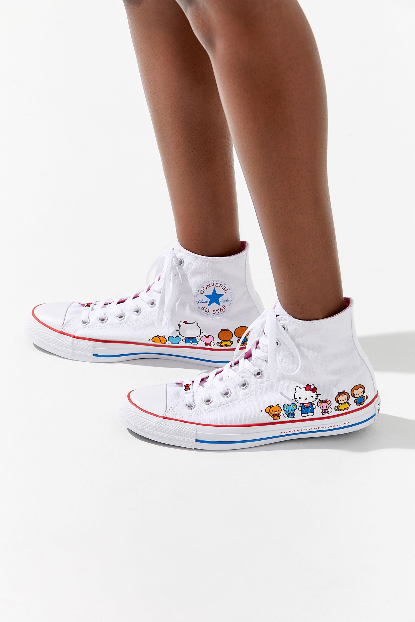 29e472b473055d Converse X Hello Kitty Chuck Taylor All Star High Top Sneaker. Tap image to  zoom. Hover to zoom. Double Tap to Zoom