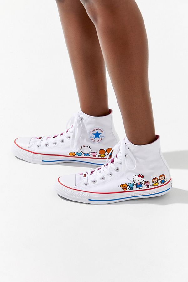 Converse X Hello Kitty Chuck Taylor All Star High Top Sneaker ... af46e1b450
