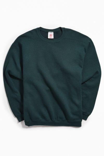 Vintage Wilson Green Crew Neck Sweatshirt by Urban Outfitters Vintage