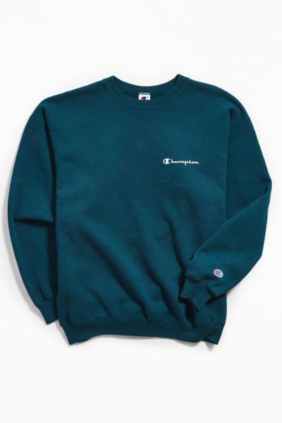 Vintage Champion Holly Crew Neck Sweatshirt by Urban Outfitters Vintage