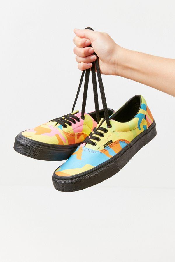 Slide View  1  Vans Era Neon Camo Sneaker 92d2704444
