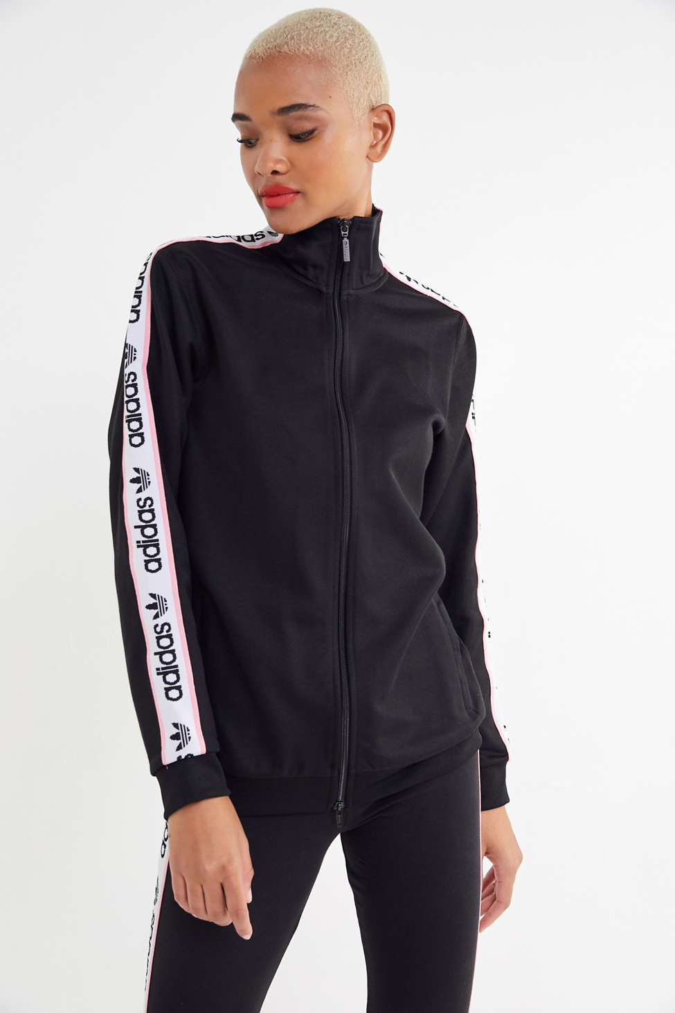 Adidas Originals Zip Up Track Jacket Urban Outfitters Canada