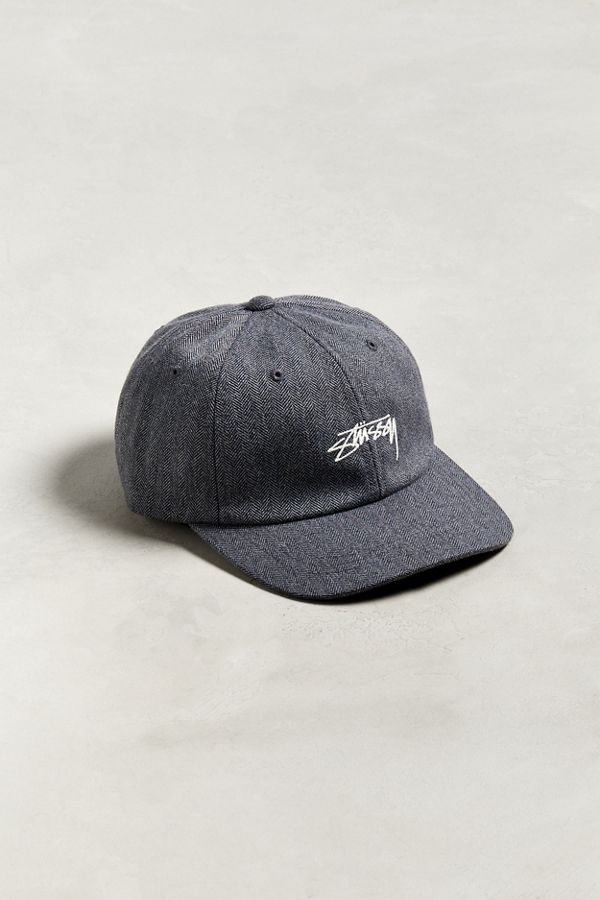Slide View  1  Stussy Stock Herringbone Low Pro Baseball Hat a47e49e9795