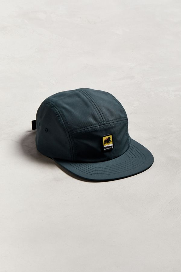 Slide View  1  Stussy Lion Rubber Patch Camp 5-Panel Hat 500bb7663c0