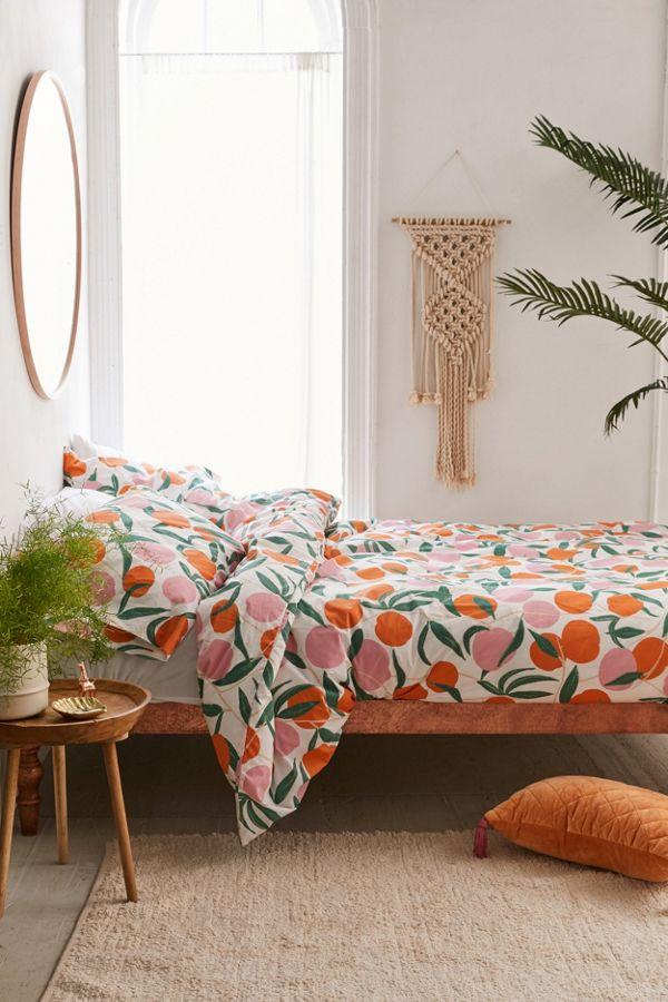 Peaches Duvet Set Urban Outfitters