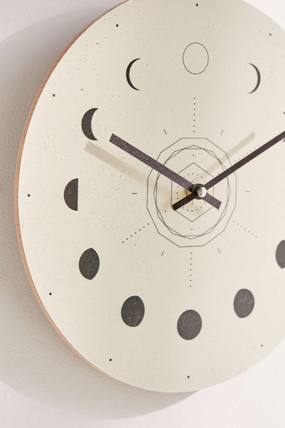 """Nayla Smith For Deny Moon Phases 12"""" Wall Clock by Deny Designs"""