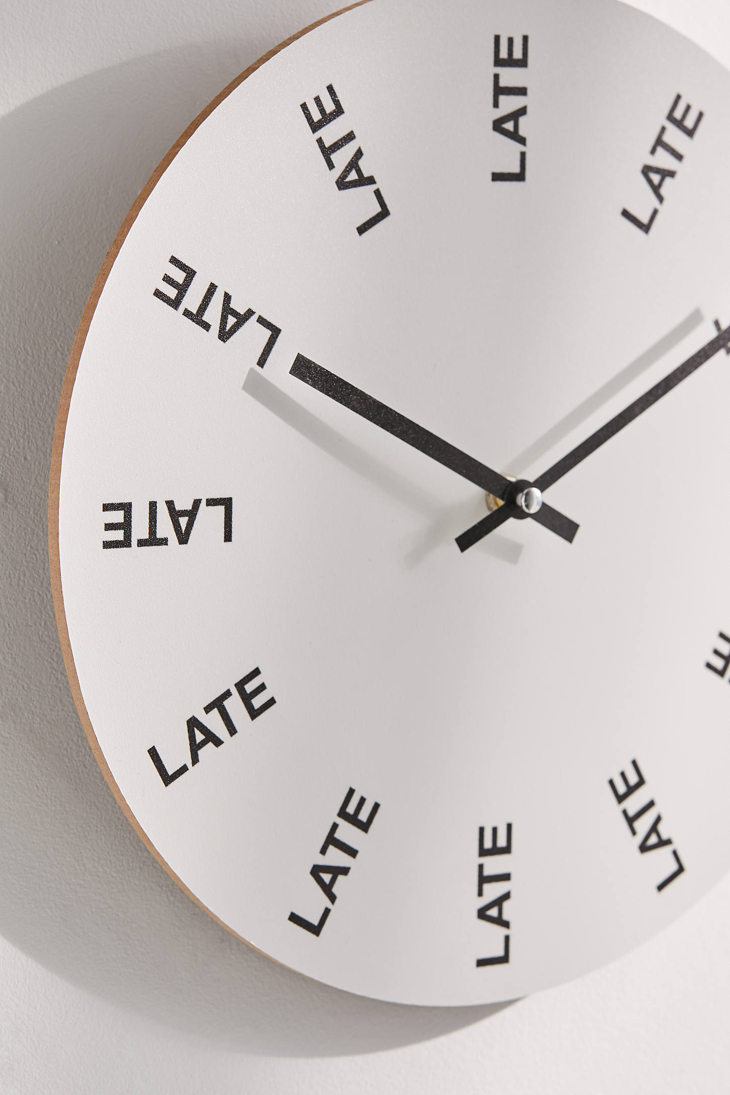 Image result for late clock