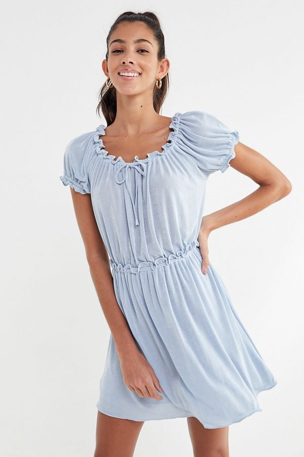 Anna Sui Uo Ruffle Babydoll Dress Urban Outfitters
