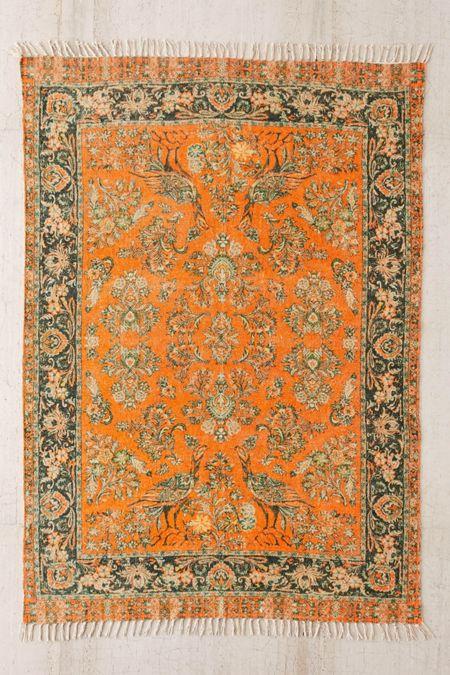 Pavo Chenille Printed Rug