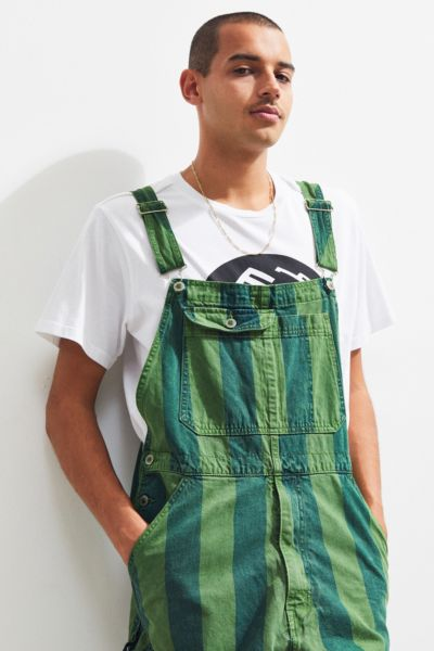 Vintage Levi's Silver Tab Overdyed Striped Overall by Levi's