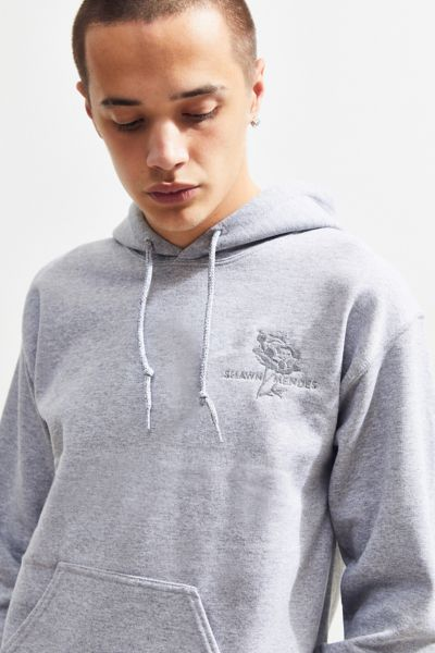 Shawn Mendes Flower Hoodie Sweatshirt by Urban Outfitters
