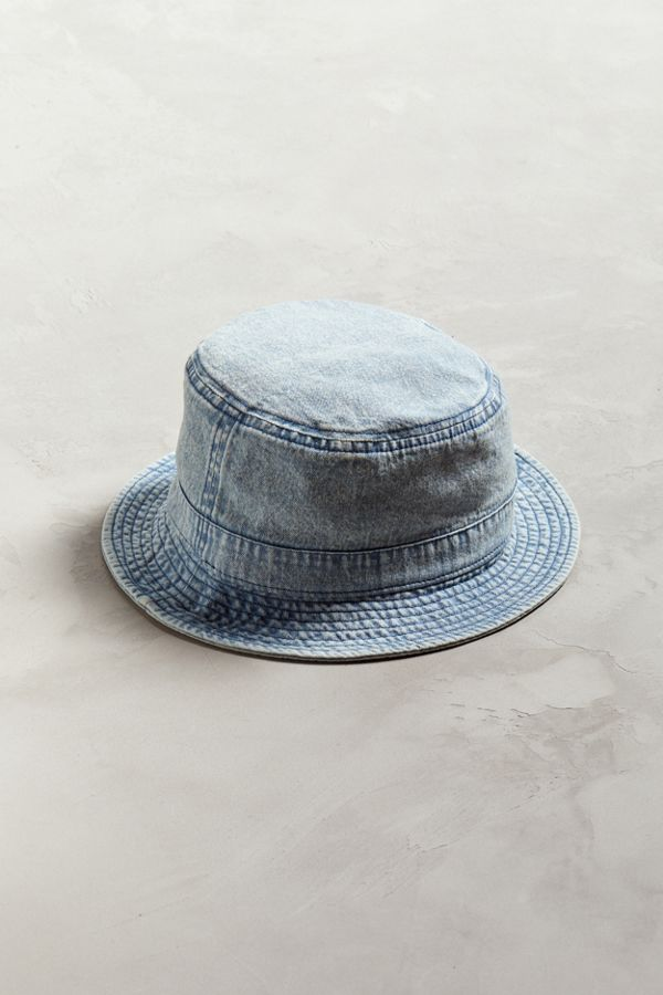 7a8a09ca4da BDG Washed Denim Bucket Hat