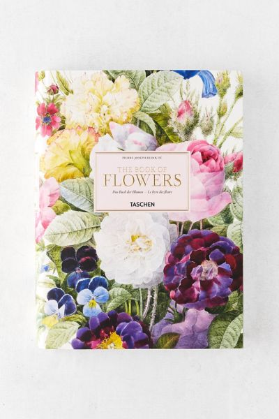 Redouté: The Book Of Flowers By H. Walter Lack by Urban Outfitters