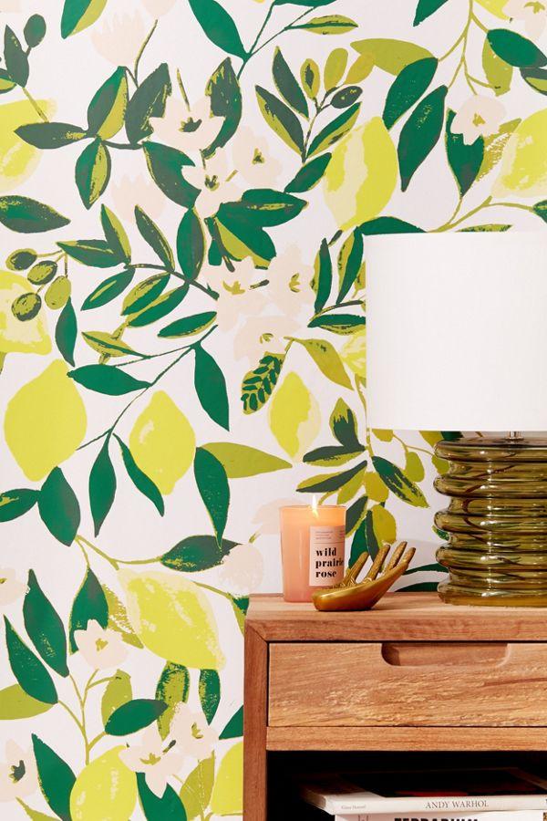 Slide View 1 Lemons Removable Wallpaper