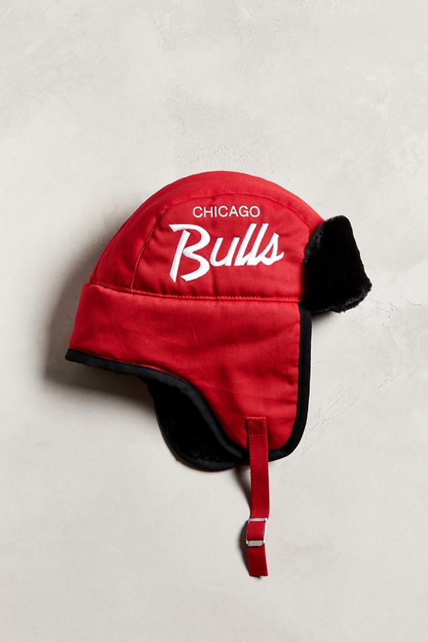 Slide View  1   47 Brand Chicago Bulls Script Trapper Hat a4c5669e77a