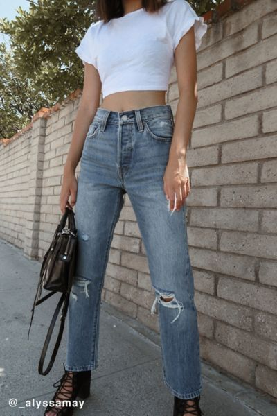 Levi S 501 Original Cropped Jean Vintage Find Urban