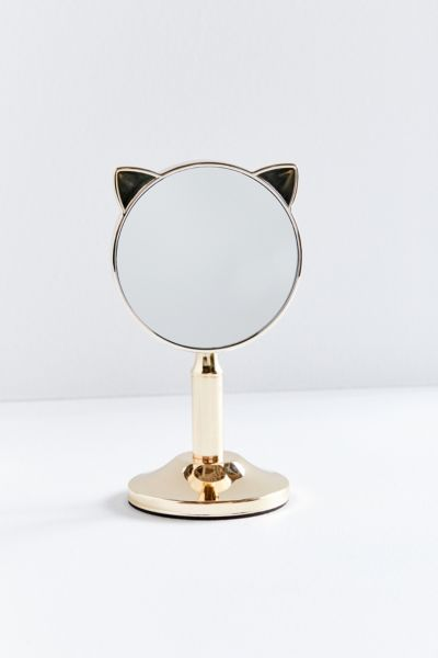 Mini Cat Vanity Mirror by Urban Outfitters