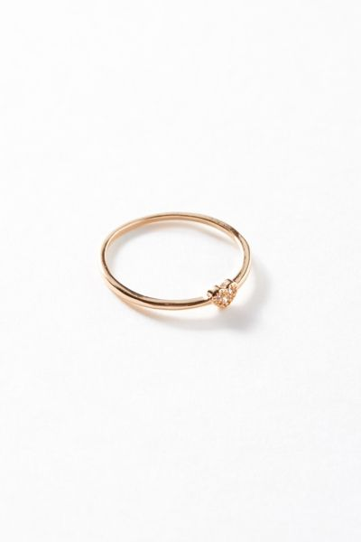 Simple Sweetheart Ring by Urban Outfitters
