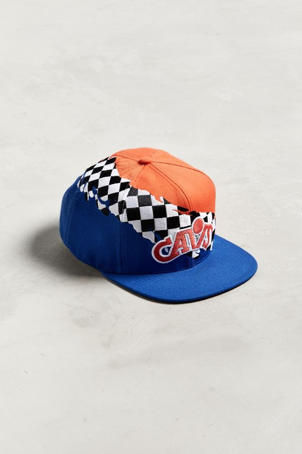 762ba930b8a Mitchell   Ness Cleveland Cavaliers Checkered Snapback Hat