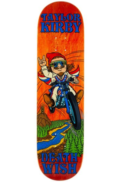 Deathwish Kirby Happy Place Deck 8.25 X 31.875 by Deathwish