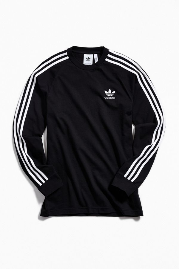 Slide View  2  adidas 3-Stripes Long Sleeve Tee 7a14a4853007