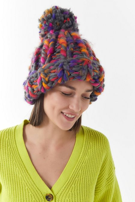 Chunky Craft Knit Beanie