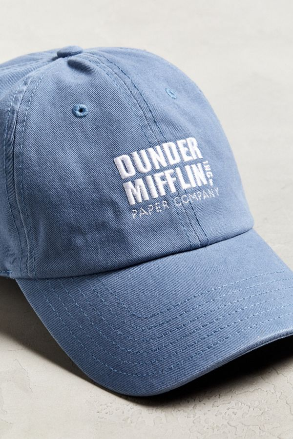Slide View  3  The Office Dunder Mifflin Baseball Hat 0ab1f1621b7