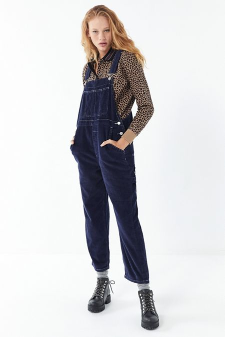 0124e2797e Urban Outfitters- Coincidence & Chance Pleated Denim Overall Skirt. BDG  Corduroy Overall