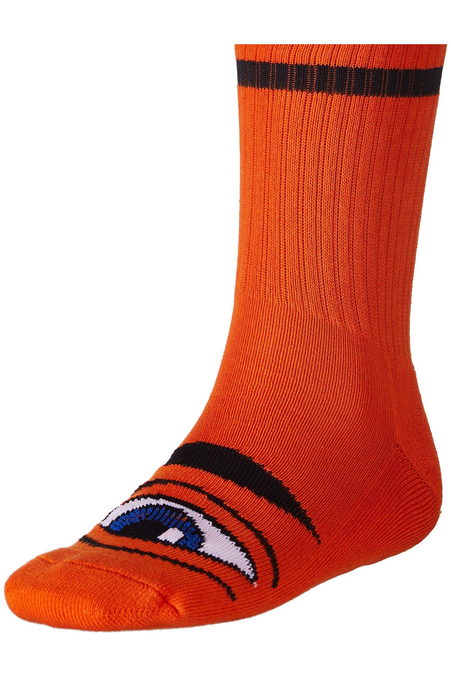 Toy Machine Sect Eye Iii Crew Socks Urban Outfitters Deck Orange Slide View 2