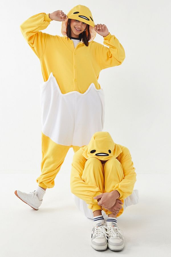 slide view 1 kigurumi gudetama halloween costume