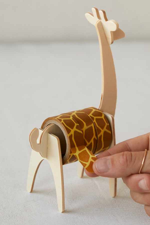 Giraffe Tape + Dispenser | Urban Outfitters