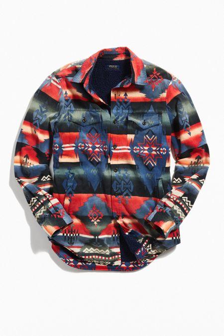 87a3c3dd6b93 Polo Ralph Lauren Sherpa Lined Beacon Shirt Jacket