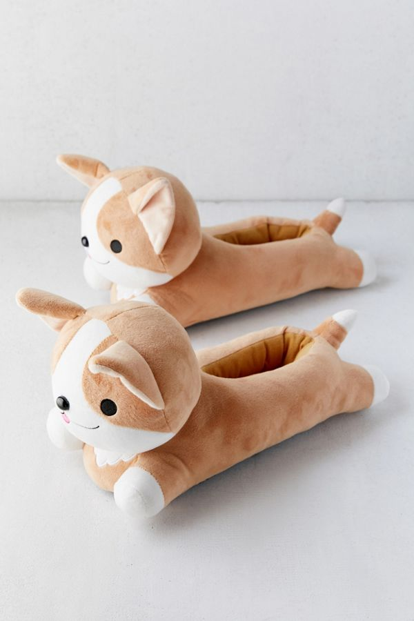 Slide View: 3: Smoko Corgi Heated Slipper