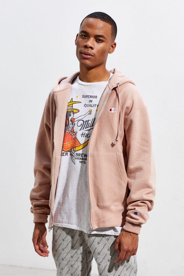 eec8e3def Slide View  1  Champion UO Exclusive Zip-Up Hoodie Sweatshirt