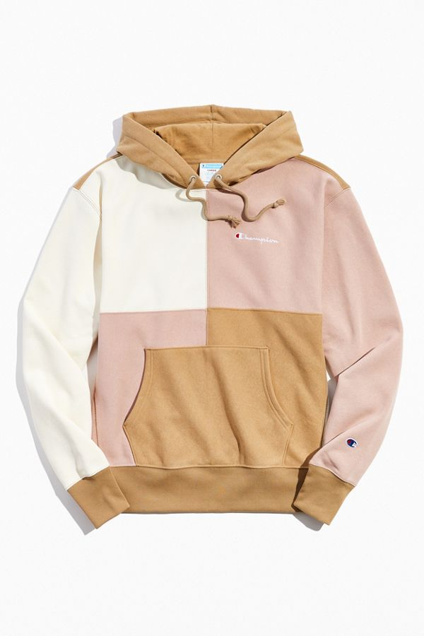 Champion UO Exclusive Colorblock Hoodie Sweatshirt  9eb4ee201d