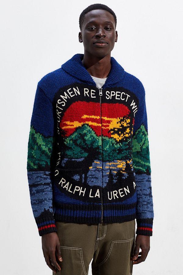 Greece Zip Up Ralph Lauren Sweater 3f69a 20353