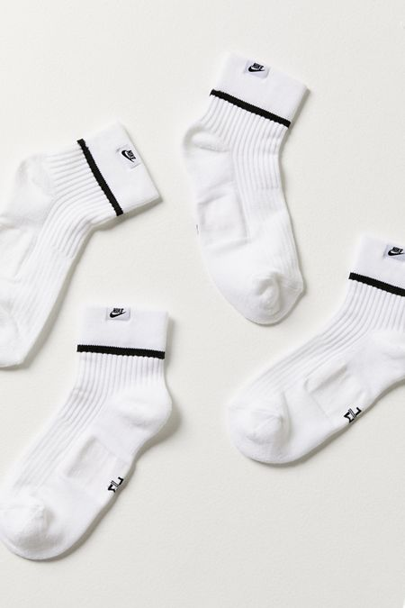 c6fcd2094 Nike SNKR Sox Essential Quarter Sock 2-Pack