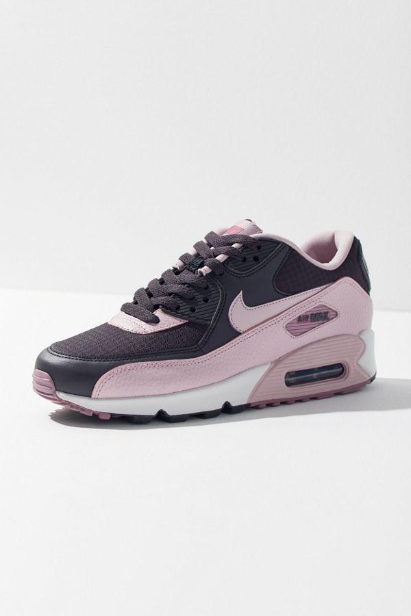 Slide View  1  Nike Air Max 90 Baby Pink Sneaker 607e45fb1