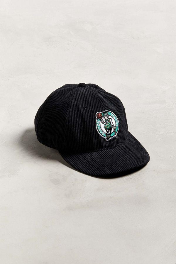 Slide View  1  New Era Boston Celtics Retro Corduroy Snapback Hat e88bd110cdf