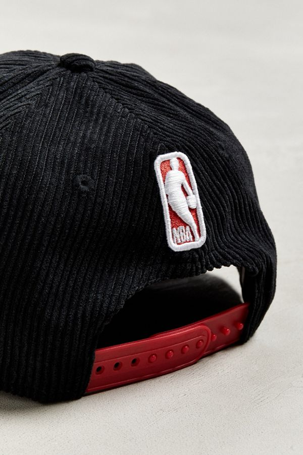 Slide View  5  New Era Chicago Bulls Retro Corduroy Snapback Hat 1818d2bac09
