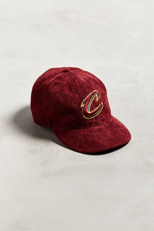 Slide View  1  New Era Cleveland Cavaliers Retro Corduroy Snapback Hat 554b337451f