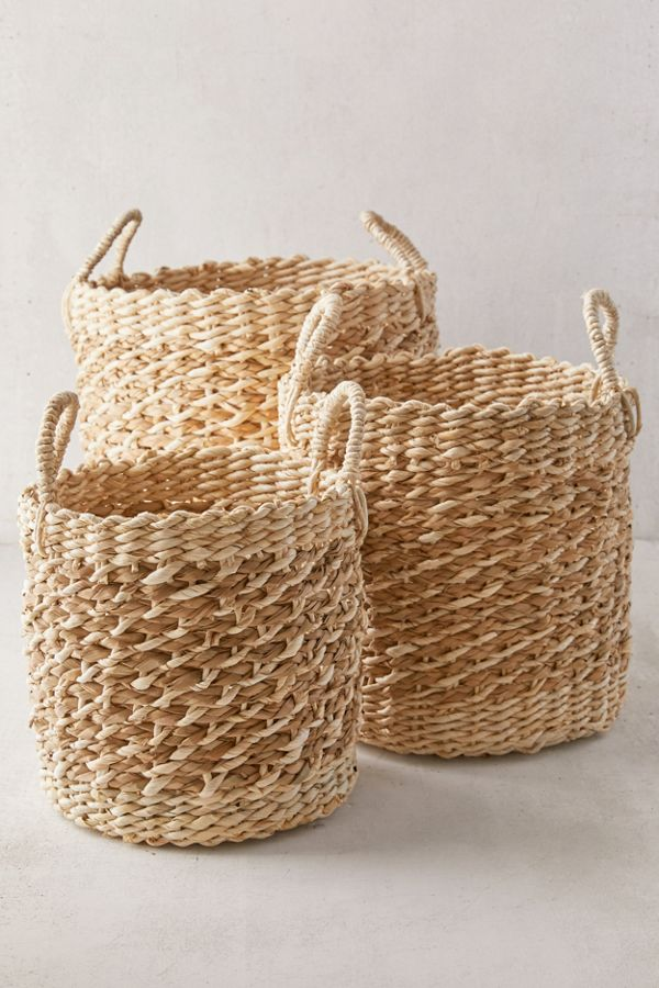 Slide View: 1: Aimee Basket - Set Of 3