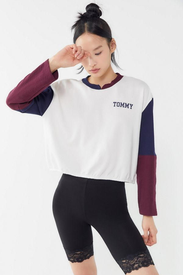Slide View  1  Tommy Hilfiger Colorblock Pullover Sweatshirt 757822ce1f