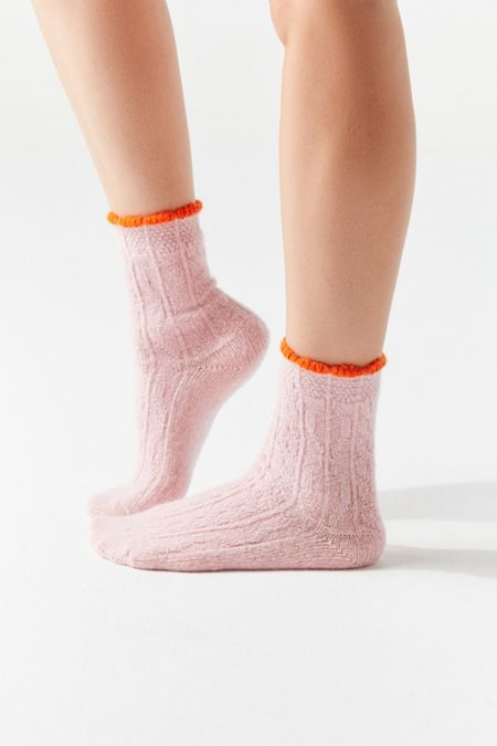 2a7540383 Hansel From Basel Pointelle Crew Sock