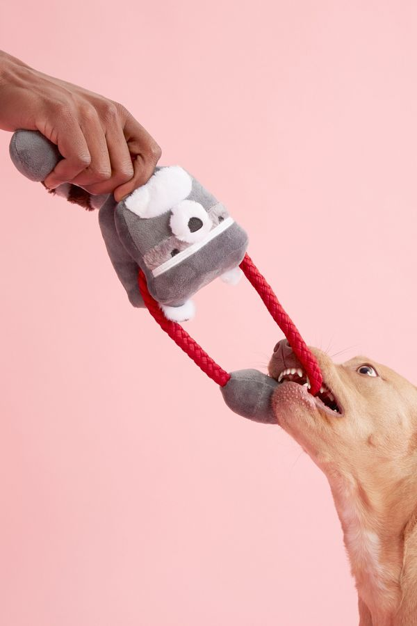 Slide View: 2: BARK Cunning Colin Tugimals Dog Toy