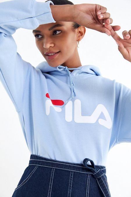 FILA UO Exclusive Logo Hoodie Sweatshirt ed7dfcc328