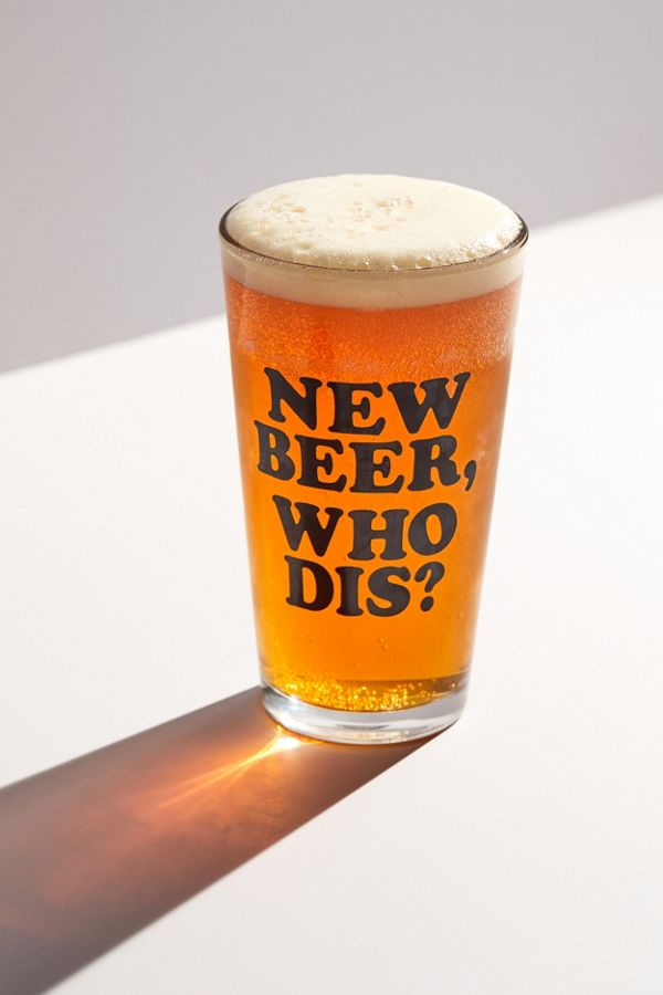 New Beer Pint Glass | Urban Outfitters