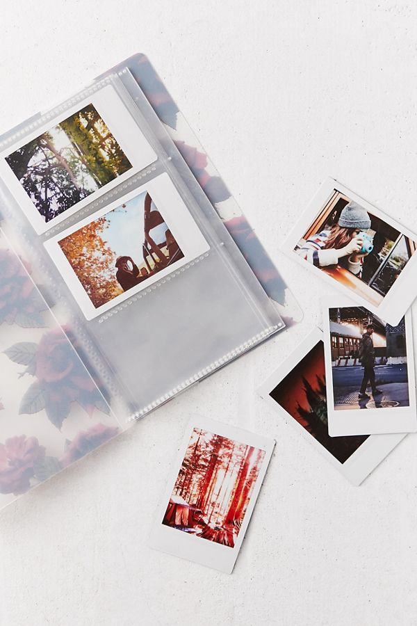 Graphic Print Frosted Instax Mini Photo Album Urban Outfitters