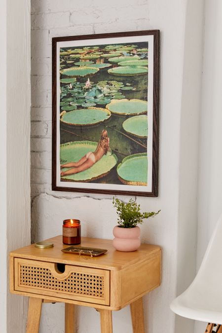 Beth Hoeckel Lily Pond Land Art Print