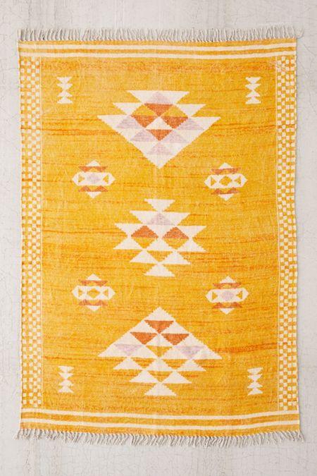 Sabira Printed Chenille Rug